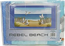 Kandy Toys Beach Design Microfaser-Handtuch