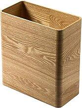 KANGNING Holz Mülleimer Can Basket