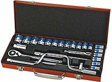 KANJJ-YU 25-teiliges Ratschenschlüssel-Set,