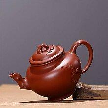 KANJJ-YU Kreative handgefertigte Yixing-Teekanne,