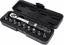 KANJJ-YU Werkzeuge 1/4 Zoll Dr 2–14 Nm Fahrrad