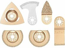 KANJJ-YU Werkzeuge 6 Stück halbrunde