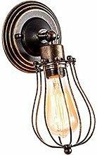 KANKOO Wandleuchten Wandlampe Retro Lampenschirm