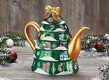 Kanne Christmas Tree Porzellan 1,0 l