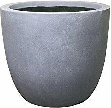 Kante Lightweight Concrete Modern Outdoor Round