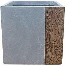 Kante Lightweight Concrete Modern Square Outdoor