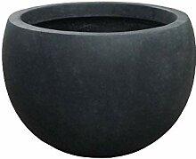 Kante Lightweight Concrete Outdoor Round Bowl