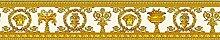 Kanten-Tapete Versace 3griechischen Medusa