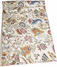 Kantha Quilt, Patchwork Decke Tagesdecke Indische
