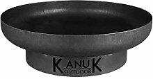 Kanuk Outdoor Feuerschale 100 cm Feuerstelle Garten