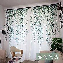KaO0YaN Vorhang Vorhänge Gardinen Wohnzimmer