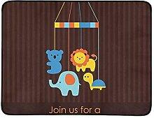 KAOROU Baby-Dusche-Karte Design tragbare und
