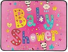 KAOROU Baby-Dusche-Karte niedlichen Panda Bears
