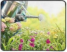 KAOROU Bewässerung von Blumen im Gartencenter