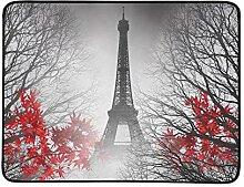 KAOROU Eiffelturm Paris Herbst Bild Tragbare Und