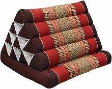 Kapok Thaikissen, Dreieck mit einer Auflage in