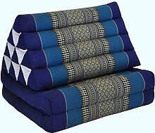 Kapok Thaikissen, Dreieck mit zwei Auflagen in