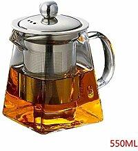 Karaffen 350/550Ml Hitzebeständige Glas Teekanne
