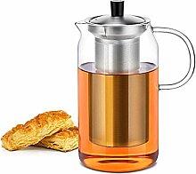 Karaffen Hitzebeständige Glas Teekanne Mit Deckel