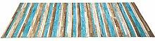 Kare 37489 Teppich Stripes Aqua, 170 x 240 cm