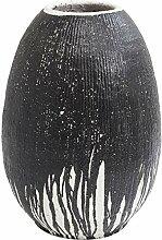 Kare 61851 Deko Vase Vulcano 63cm, Korpus: Steingu
