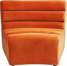 Kare 83664 Design Sofa Element Wave Orange,