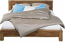 Kare Authentico Bett 160x200cm, Kopfteil Füße