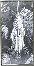 Kare Bild Frame Chrysler Building View, 60378,