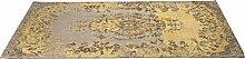 Kare Design 39972 Teppich Kelim Pop, Gelb, 170x240