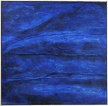 Kare Design Acrylbild Abstract Deep Blau