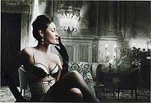 Kare Design Bild Glas Dessous Lady 80x120cm,