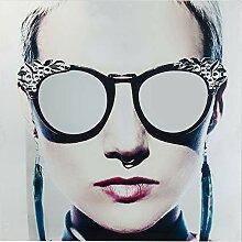 Kare Design Bild Glas Metallic Girlie 120x120cm