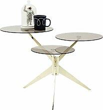 Kare Design Couchtisch Bonsai Tre, Glastisch,