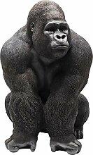 Kare Design Deko Figur Gorilla Front XXL, große
