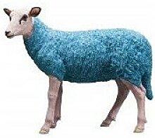 KARE DESIGN Dekofigur SHEEP Polyresin Blau