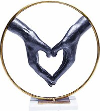 Kare Design Dekoobjekt Elements Heart Hand,
