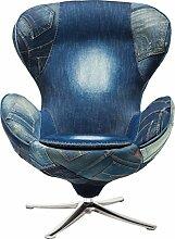 Kare Design Drehsessel Lounge Jeans, bequemer,