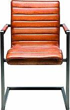 Kare Design Freischwinger Riffle Buffalo Brown,