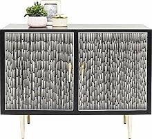 Kare Design Kommode Piano 2 Türen, 90x114x48cm