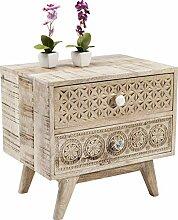 Kare Design Kommode Puro Klein, Nachttisch mit