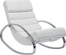 Kare-Design SCHAUKELSESSEL , Weiß , 62x81x110 cm