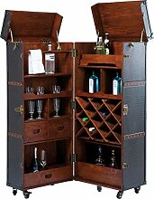 Kare Design Schrankkoffer Bar Colonial, Barkoffer