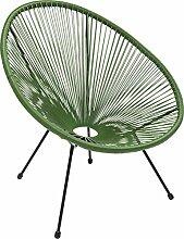 Kare Design Sessel Acapulco Grün, moderner