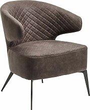 Kare Design Sessel Amsterdam Grau, Loungesessel,
