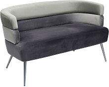 Kare-Design SOFA , Grau, Hellgrau , 125x64x64 cm ,