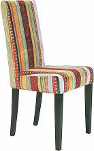 Kare-Design STUHL Multicolor , Holz, Streifen,