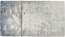 Kare Design Teppich Abstract Dunkelblau, großer