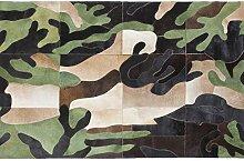 Kare Design Teppich Camouflage, großer