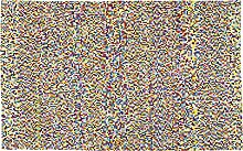 Kare Design Teppich Pixel Rainbow Multi, großer