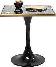 Kare Design Tisch San Remo Square, schwarz,